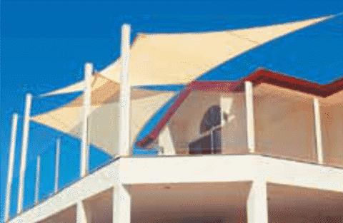 Shaded Balcony